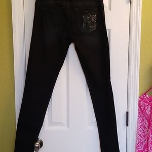 Guess Jean's with crystal detail.